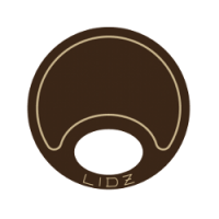 Lidz Small Tan/Brown Bait Lid