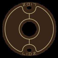 Lidz Large Tan/Brown Keg Lid