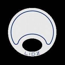 Lidz Small Blue/White Bait Lid