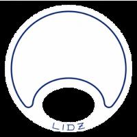 Lidz Large Blue/White Bait Lid